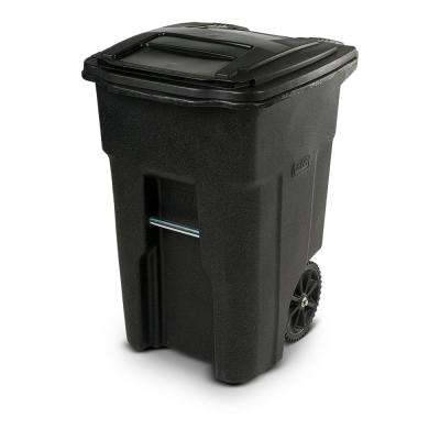48 Gal. Blackstone Trash Can with Wheels and Attached Lid