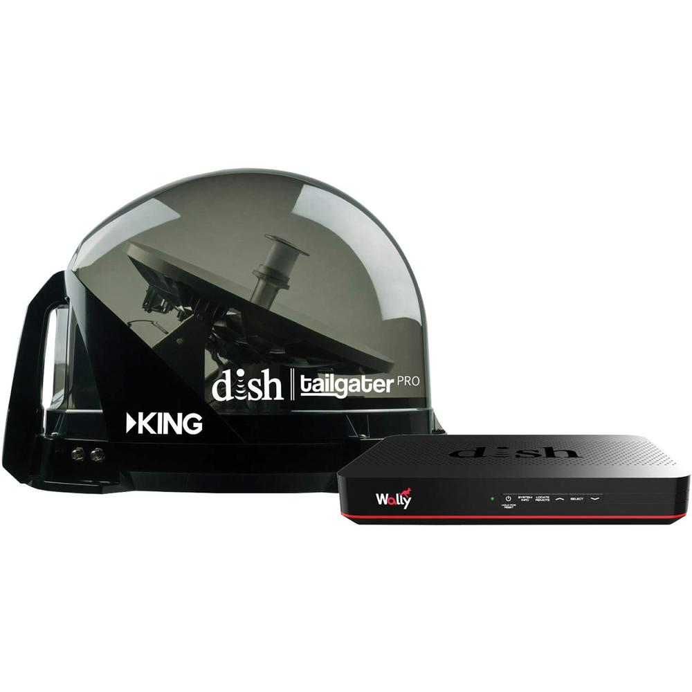 King Dish Tailgater Pro Premium Automatic Satellite Tv System Dtp4950 The Home Depot