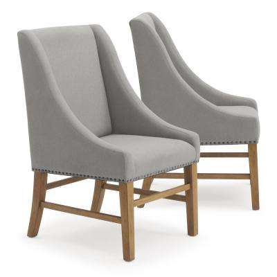 Bella Grey Upholstered Dining Chair (Set of 2)