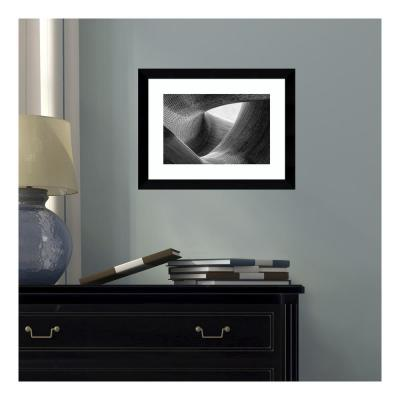 14 in. W x 11 in. H 'Lines' by Peter Pfeiffer Framed Print Wall Art