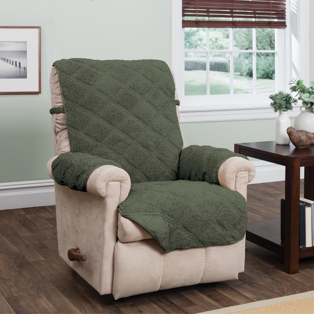 Hudson Green Waterproof Recliner Furniture Cover Hunter
