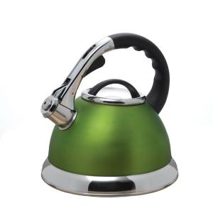 Click here to buy Creative Home Camille 12-Cup Stovetop Tea Kettle in Chartreuse by Creative Home.