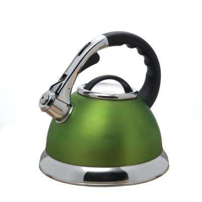 Camille 12-Cup Stovetop Tea Kettle in Chartreuse