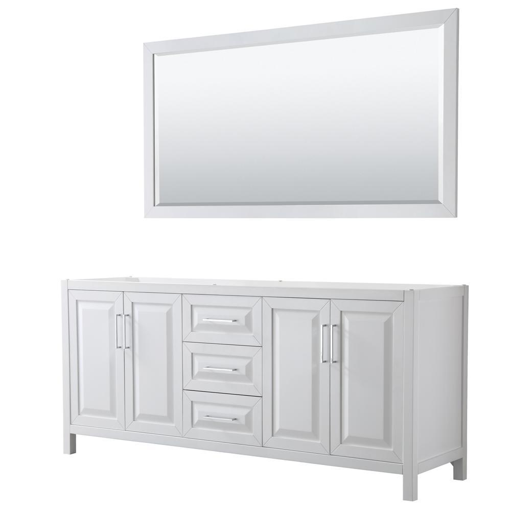 Wyndham Collection Daria 78 75 In Double Bathroom Vanity