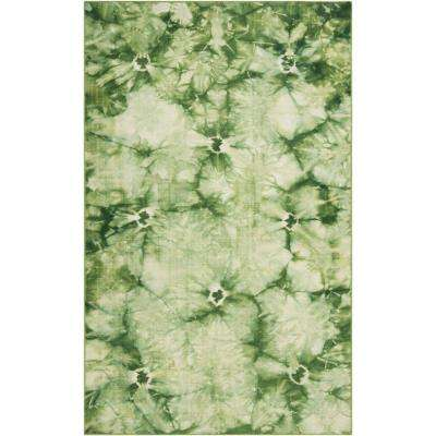 Bohemia Forest Green 8 Ft X 11 Indoor Area Rug