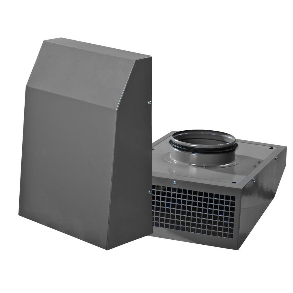 Mountable Exhaust Fan : Vents cfm power in wall mount exterior centrifugal