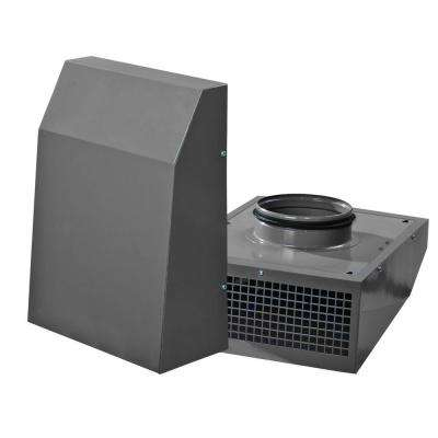 VENTS 306 CFM Power 8 in. Wall Mount Exterior Centrifugal Exhaust Metal Duct Vent Fan