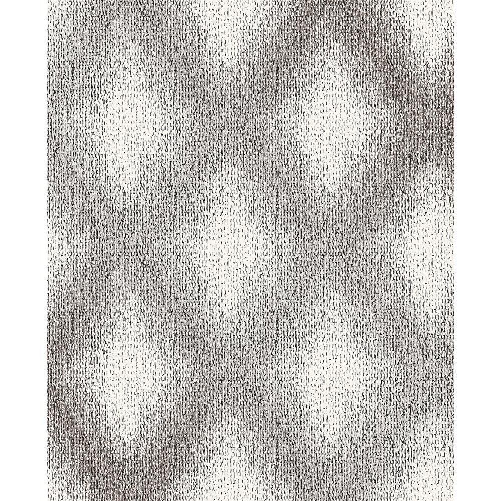 Decorline Peoria Black Diamond Weave Wallpaper Sample 2735-23310SAM