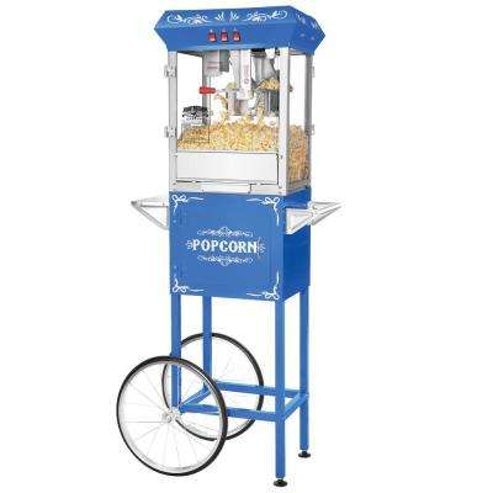 Foundation 8 oz. Popcorn Machine & Cart