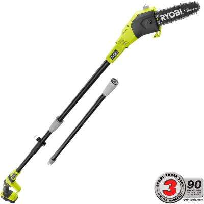 ONE+ 8 in. 18-Volt Lithium-Ion Cordless Pole Saw - 1.3 Ah Battery and Charger Included
