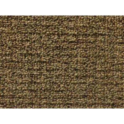 Carpet Sample-Cannon Beach - Color Bronze Outdoor Berber 8 in. x 8 in.