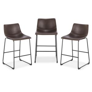 Poly And Bark Brinley Brown Dining Chair Set Of 2 Hd