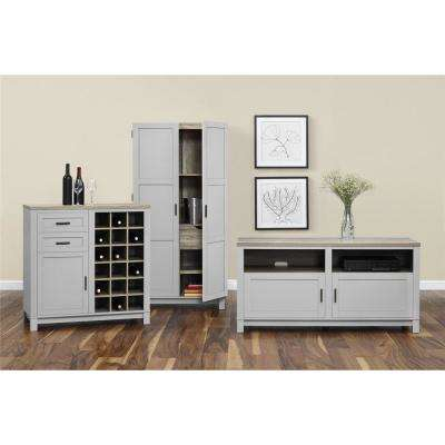 Gray - Rustic - TV Stands - Living Room Furniture - The Home Depot