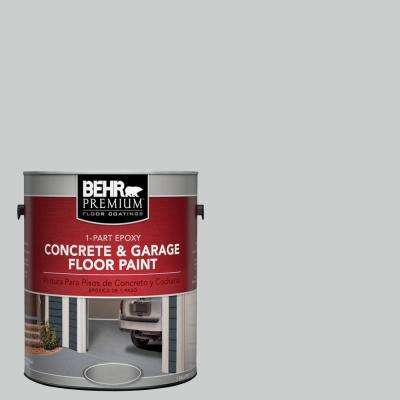 1 gal. #N460-2 Planetary Silver 1-Part Epoxy Concrete and Garage Floor Paint