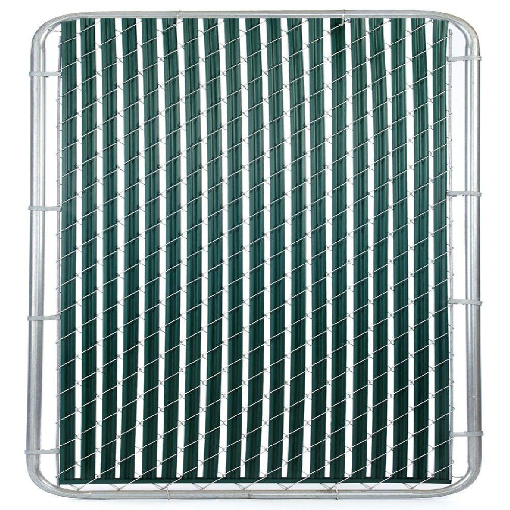 null Casa Verde 8 ft. Green Fence Slat
