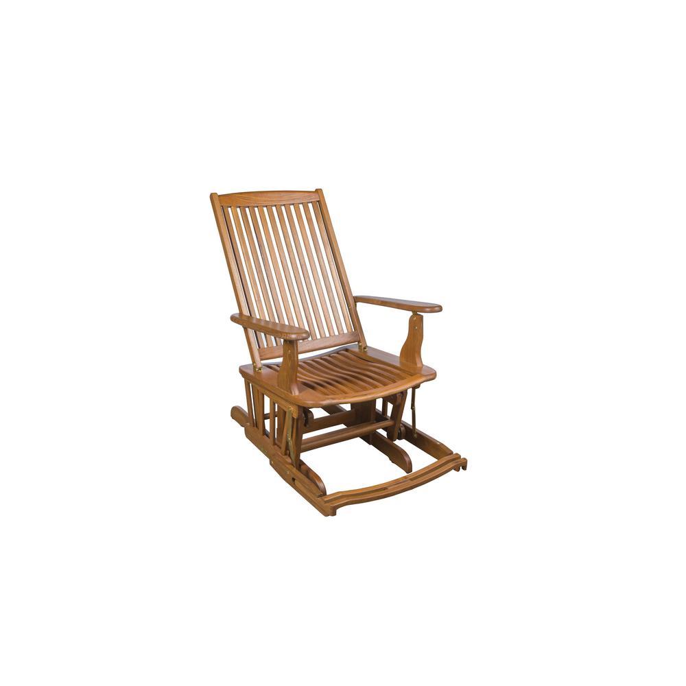 Fine Whitecap Teak Glider Chair Ncnpc Chair Design For Home Ncnpcorg