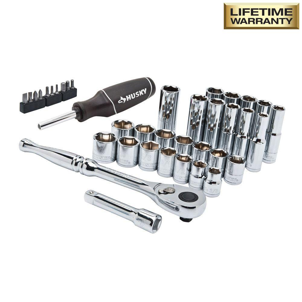 Husky Mechanics Tool Set (38-Piece)