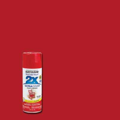 12 oz. Gloss Apple Red General Purpose Spray Paint