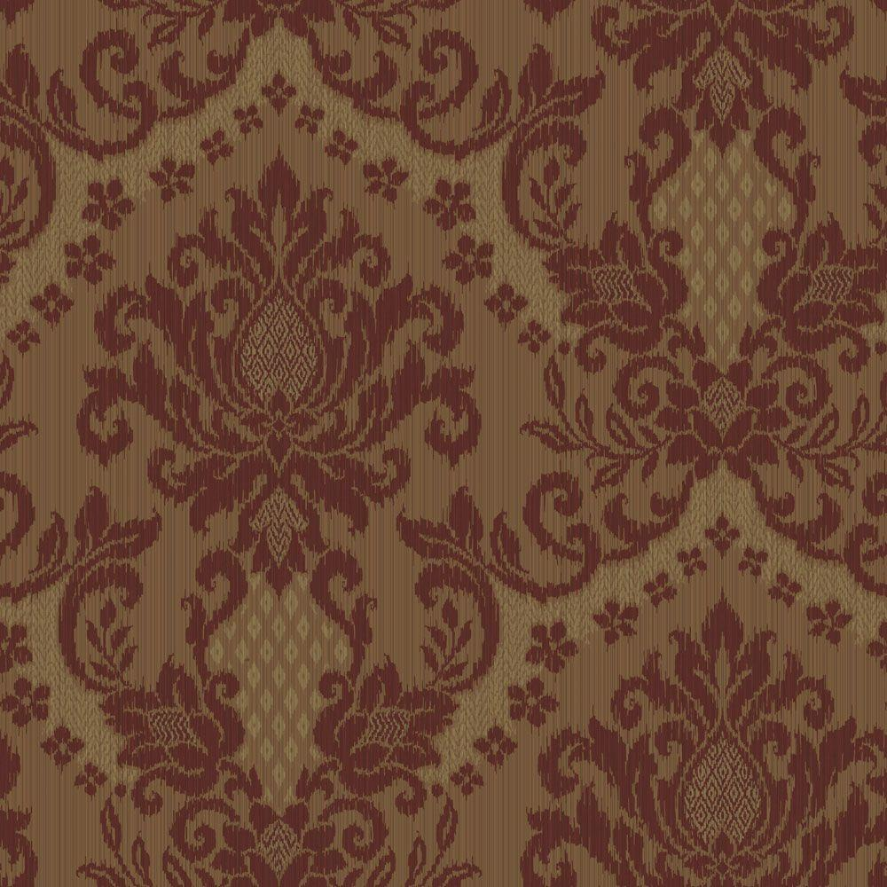 The Wallpaper Company 8 in. x 10 in. Bedazzled Red/Purple Wallpaper Sample-DISCONTINUED