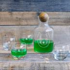 undefined St. Patrick's Day Glass Decanter with Wood Stopper Set