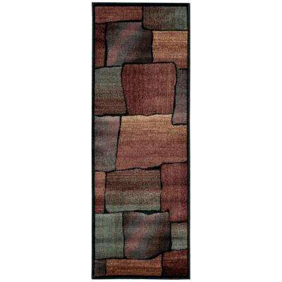 Expressions Multi 2 ft. x 5 ft. 9 in. Rug Runner