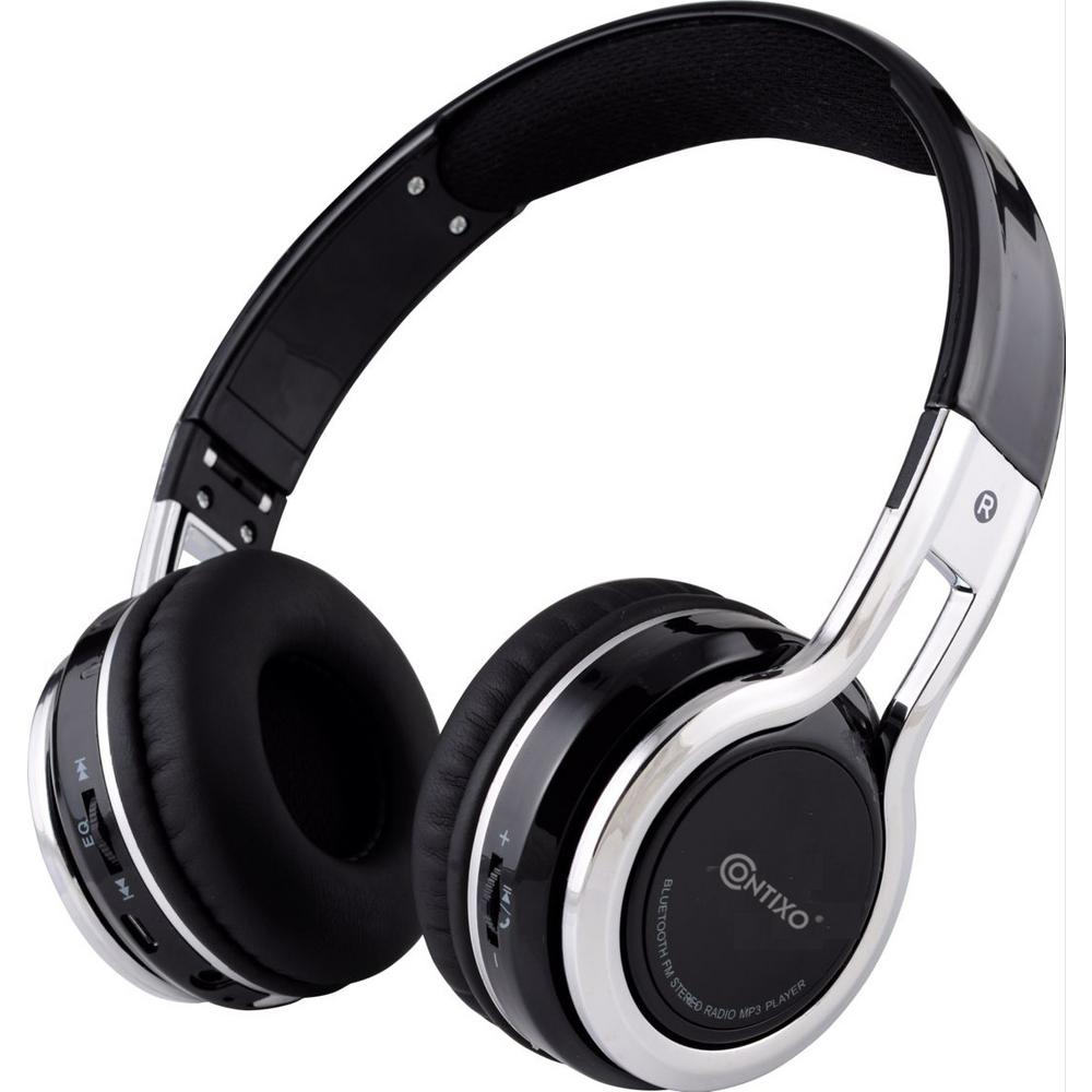 Kid-safe Volume-Limiting (MAX 85 dB) Bluetooth Wireless Over-the-Ear Folding