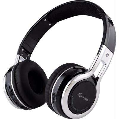 Kid-safe Volume-Limiting (MAX 85 dB) Bluetooth Wireless Over-the-Ear Folding Headphones