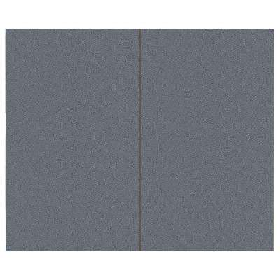 44 sq. ft. Wolf Fabric Covered Top Kit Wall Panel