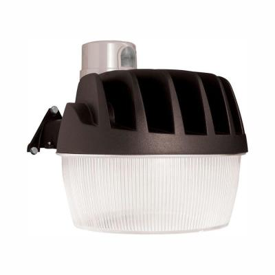 Bronze Outdoor Integrated LED Area Dusk to Dawn Security Light with Replaceable Photocell, 3500 Lumens, 5000K Daylight