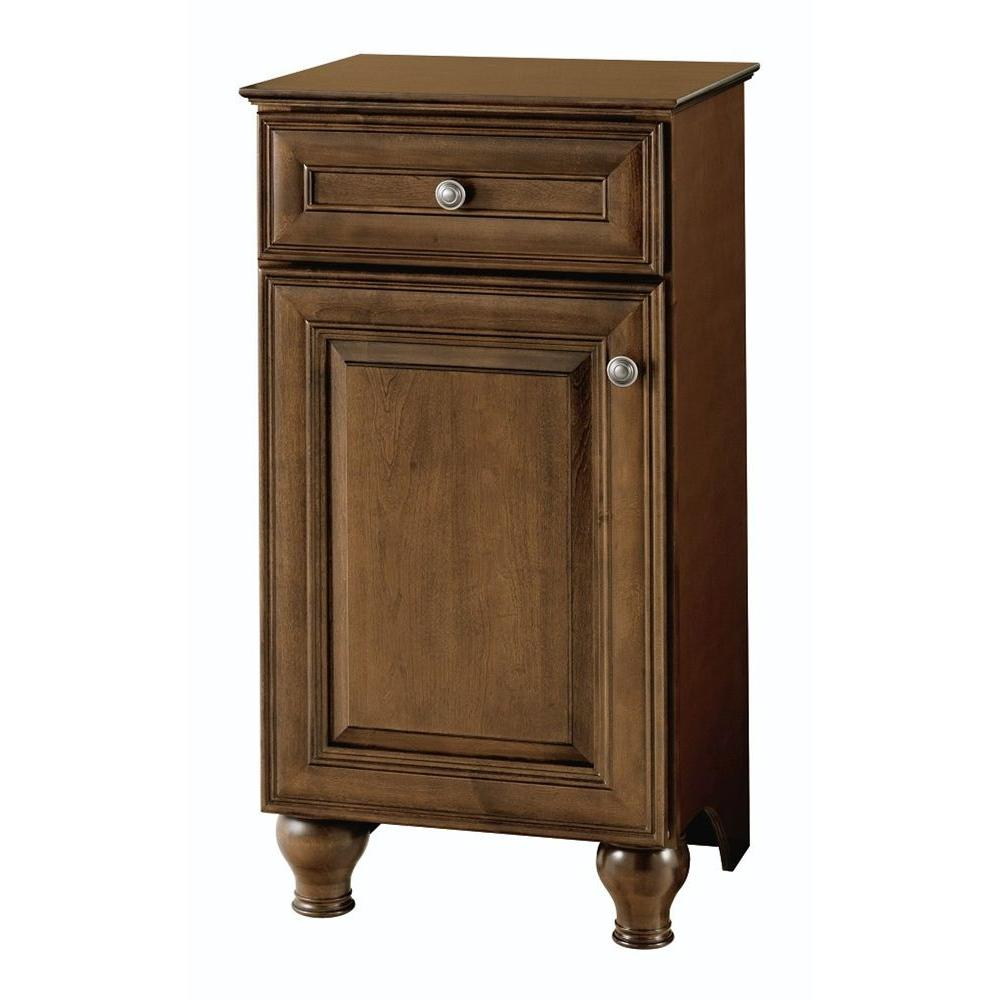 Home Decorators Collection Templin 19 in. Vanity Cabinet in Coffee-19DVB18 - The Home Depot