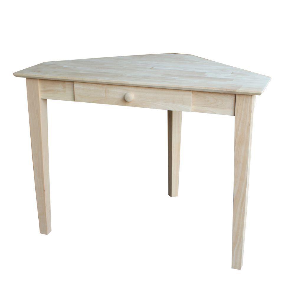 Bon International Concepts Unfinished Desk