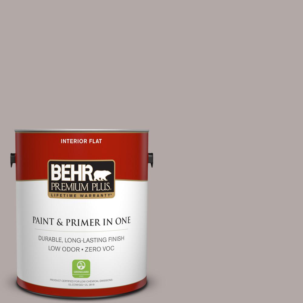 BEHR Premium Plus 1-gal. #N140-3 Metropolis Flat Interior Paint