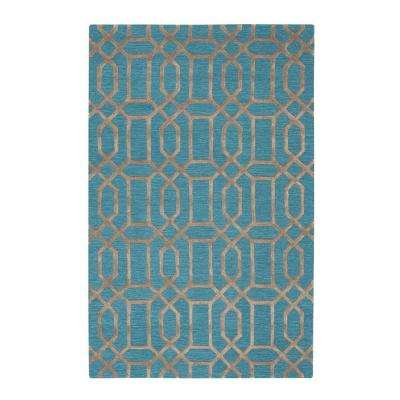 Capital Teal 8 ft. x 11 ft. Area Rug