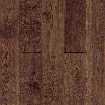 Longford Vintage Brown 3/4 in. Thick x 5 in. Wide x Random Length Solid Hardwood Flooring (21.70 sq. ft. / case)