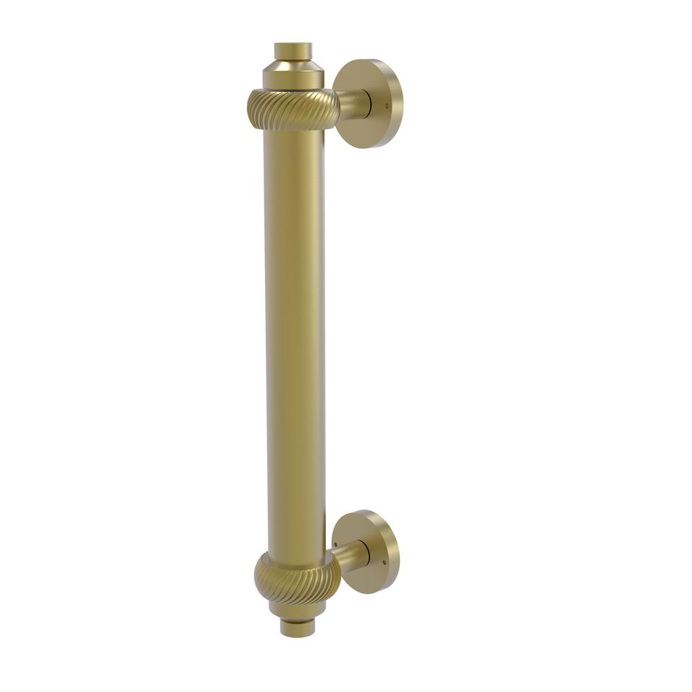Allied Brass 8 in. Center-to-Center Door Pull with Twisted Aents in Satin Brass