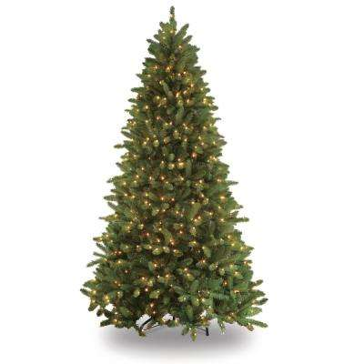 7.5 ft. Pre-Lit Glacier Fir Artificial Christmas Tree with 700 Clear Lights