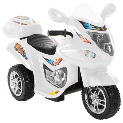 Battery Operated Trike Motorcycle Ride On Toy White