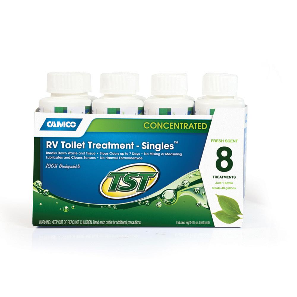 TST 4 oz. RV Toilet Treatment Singles (8-Pack)