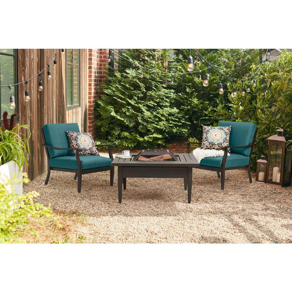Hampton Bay Crestridge Outdoor Coffee Table Deal Brickseek