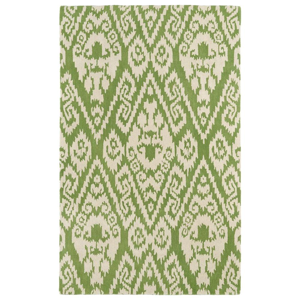 Evolution Green 5 ft. x 7 ft. 9 in. Area Rug