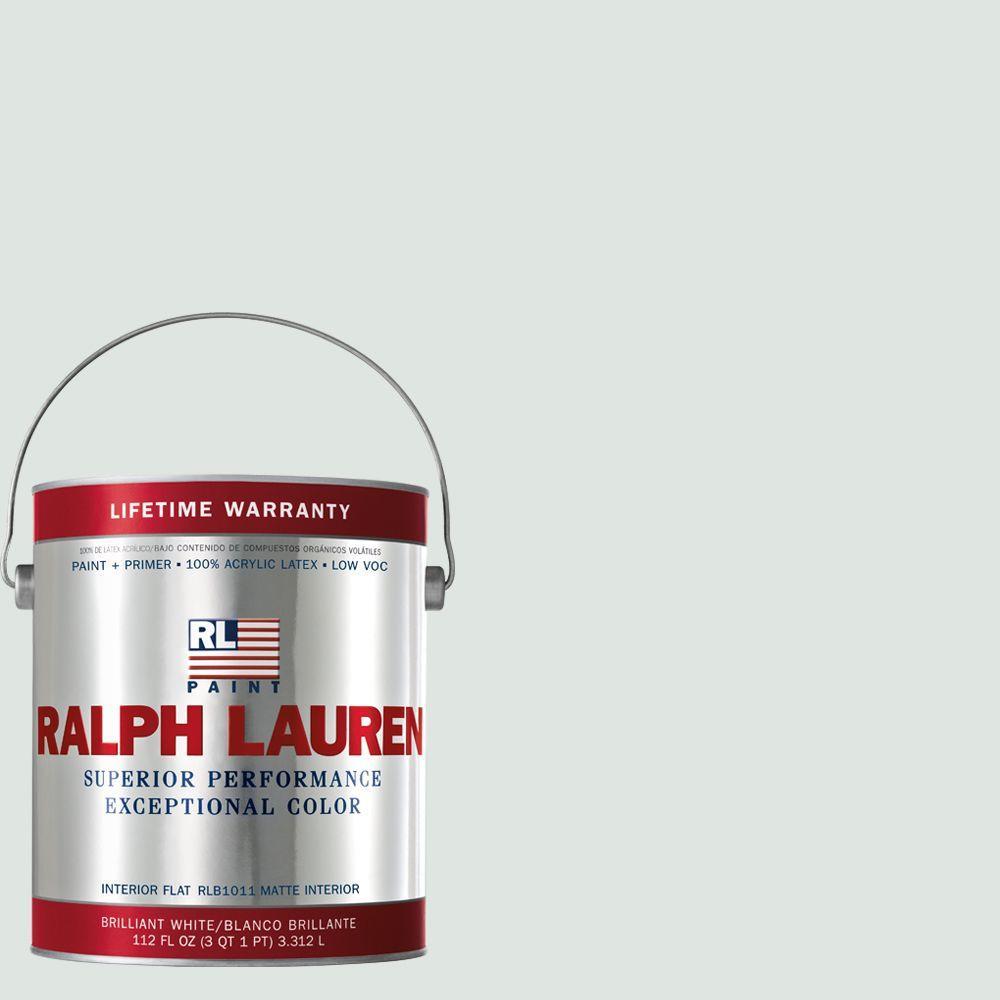 Ralph Lauren 1-gal. Box Pleat White Flat Interior Paint