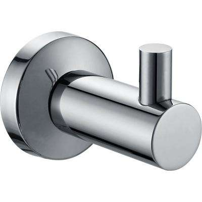 Nirvana Single Robe Hook in Polished Chrome