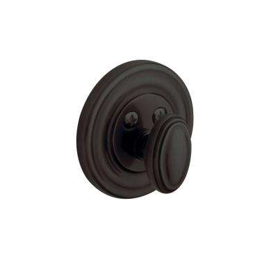 Traditional Single Cylinder Oil-Rubbed Bronze Patio Deadbolt