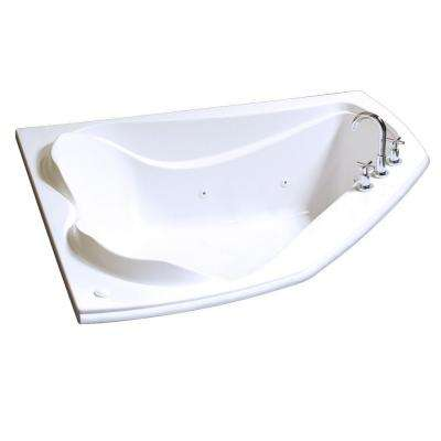 Cocoon 6054 5 ft. Whirlpool Tub in White