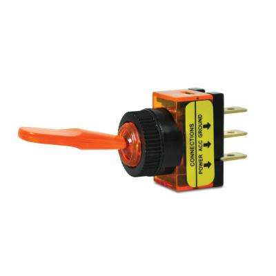 20 Amp Amber Glow Toggle Switch