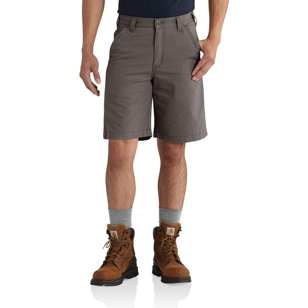 Men's 36 Gravel Cotton/Spandex Rugged Flex Rigby Short