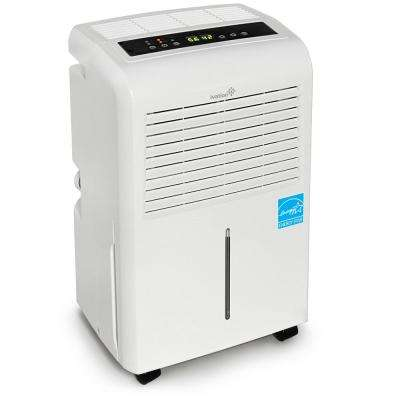 Ivation 30-Pint ENERGY STAR Compressor Dehumidifier for with Programmable Humidistat & Hose Connector upto 2,000 sq. ft.