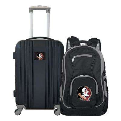 NCAA Florida State Seminoles 2-Piece Set Luggage and Backpack