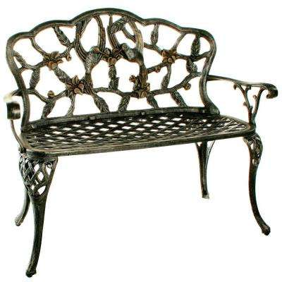 Hummingbird Loveseat Patio Bench