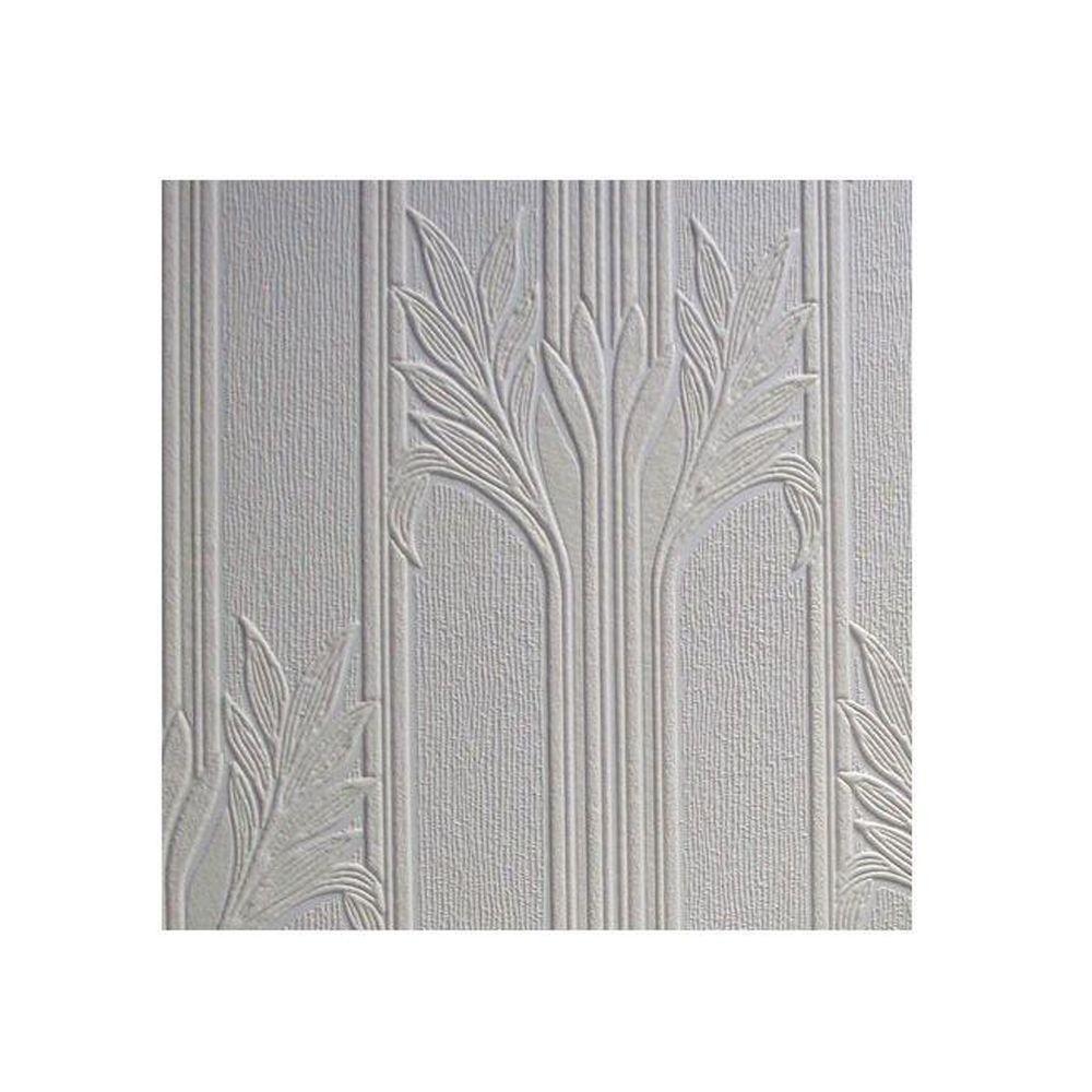 Attirant Wildacre Paintable Textured Vinyl Wallpaper